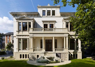 Villa Erich-Zeigner-Allee 11 - Gartenansicht