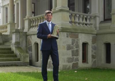 Der Preisträger Ingo Jahnel