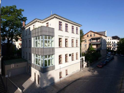 Referenzobjekt Hinrichsenstraße 1b - Außenansichten