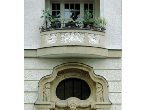 Referenzobjekt Simsonstraße 4 - Material