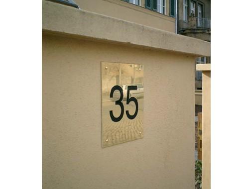 Referenzobjekt Poetenweg 35 - Material