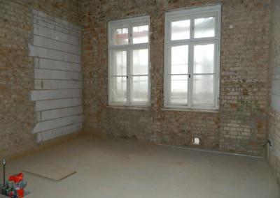 Ausmauern von nicht benötigten überzähligen Türöffnungen