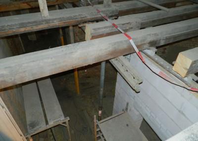 Rückbau der alten Holzbalkendecken im III.OG zum DG