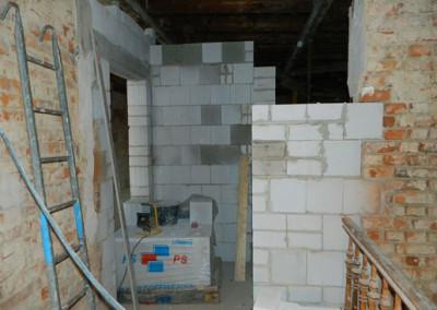 zukünftiger Wohnungszugang im Dachgeschoss
