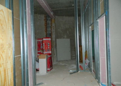 Trockenbauarbeiten im Neubaubereich