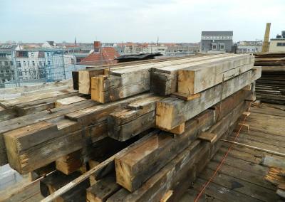Rückbau des alten Daches