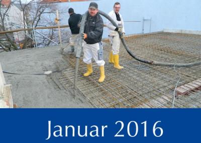 Objekte im Bau - Taeubchenweg 1 -  Januar 2016