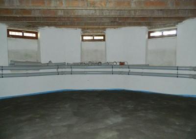Mieterkeller mit neuem Betonfußboden