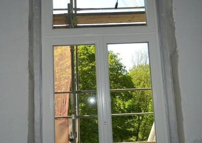 Ansicht eines neu eingebauten Fensters