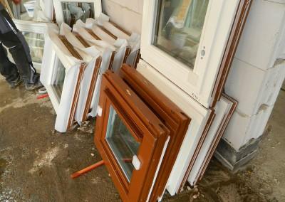 Attikafenster vor dem Einbau