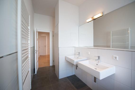 Vermietung Täubchenweg 1 - Referenz Löhrstraße 8 - Beispiel für ein Bad