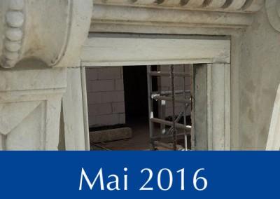 Objekte im Bau - Täubchenweg 1 - Mai 2016