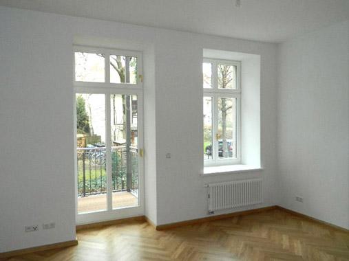 Vermietung Täubchenweg 1 - Referenz Wettiner Straße 10 - Beispiel für einen Wohnraum