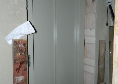 Ein Haltepunkt des neu eingebauten Aufzuges