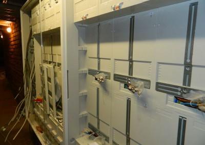 Neue Elektrohauptverteilung im Kellermittelgang