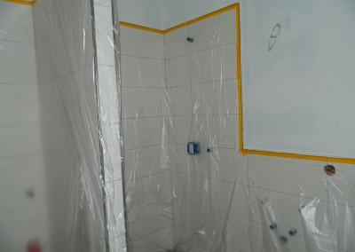 Ansicht des Gäste-Bades nach erfolgten Malerarbeiten