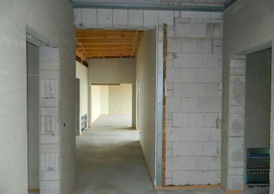 Weiterführender Trockenbau in einer Dachgeschosswohnung