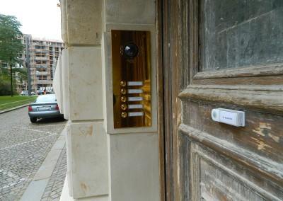 Klingeltableau vom Rabensteinplatz