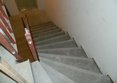 Fliesenbelag des Treppenhauses im Rabensteinplatz