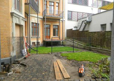Weiterführende Arbeiten an den Außenanlagen
