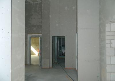 Erdgeschoss mit neu eingebautem Heizestrich