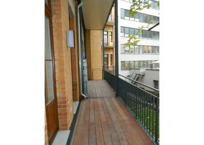 Balkon nach Fertigstellung