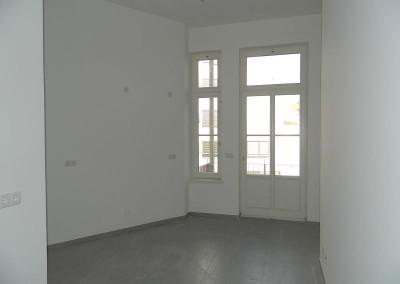 Ansicht einer Küche in einer Regelgeschosswohnung