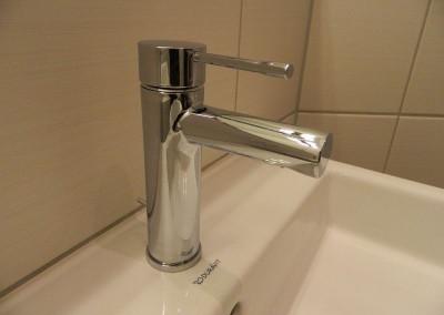 Detailansicht der Waschtischgarnitur