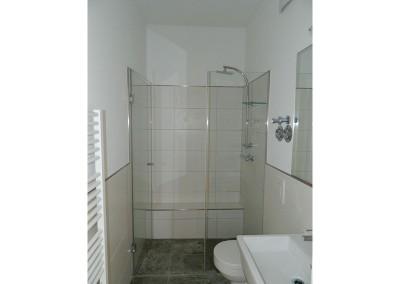 Bad einer Apartmentwohnung