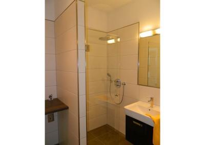 Gäste-WC in einer Regelgeschosswohnung