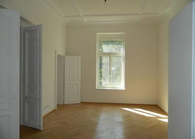 Wohnraum eines Apartments