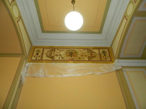 Wandbild nach Fertigstellung