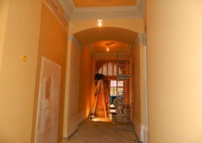 Malerarbeiten im Entreé