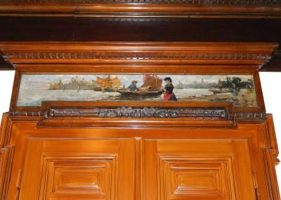 Detailansicht der Malerei