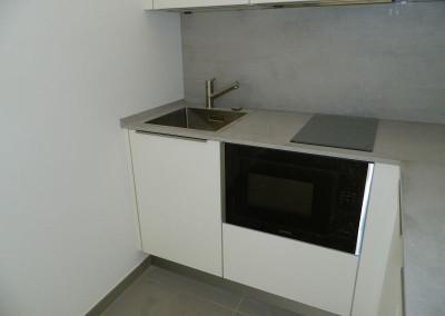 Detailansicht der Küchenzeile