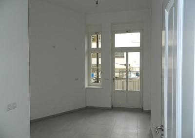 Küche im Regelgeschoss nach Fertigstellung