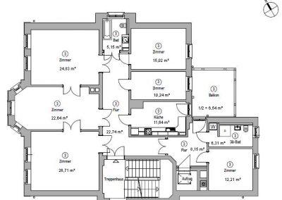 Wohnung kaufen – Pölitzstraße 11 – Wohneinheit 03