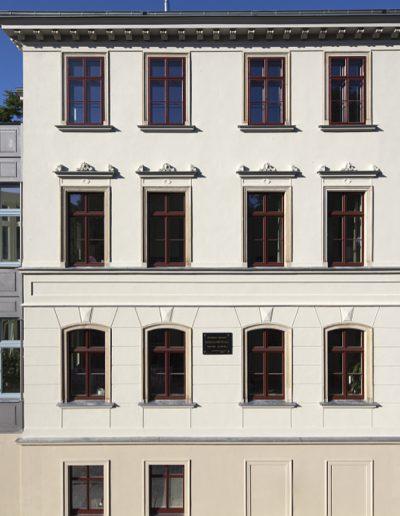 Ansicht der Straßenfassade